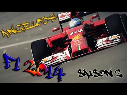 Angel038 - F1 2014 - Saison 2 - #4 Chine Course (Redif du Live)