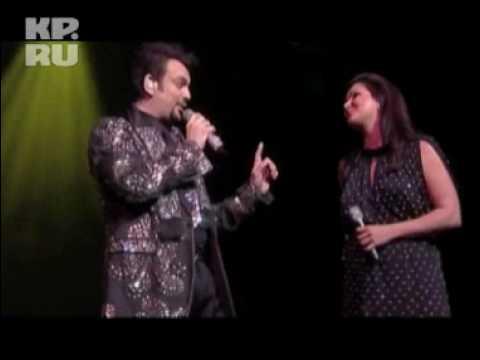 Анна Нетребко и Филипп Киркоров поют дуэтную песню «Голос»