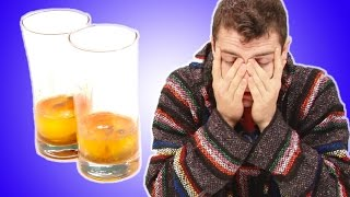 Hungover People Taste Test Hangover Cures From Around The World