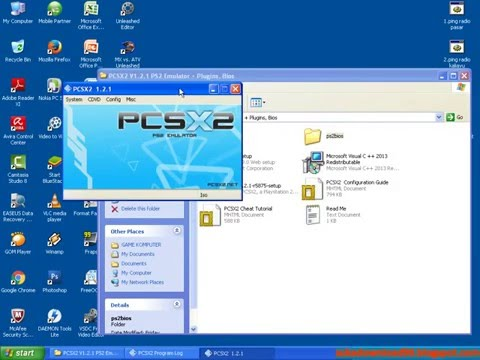 Cara instal Emulator PCSX2 (PS2 Emulator) di Windows XP