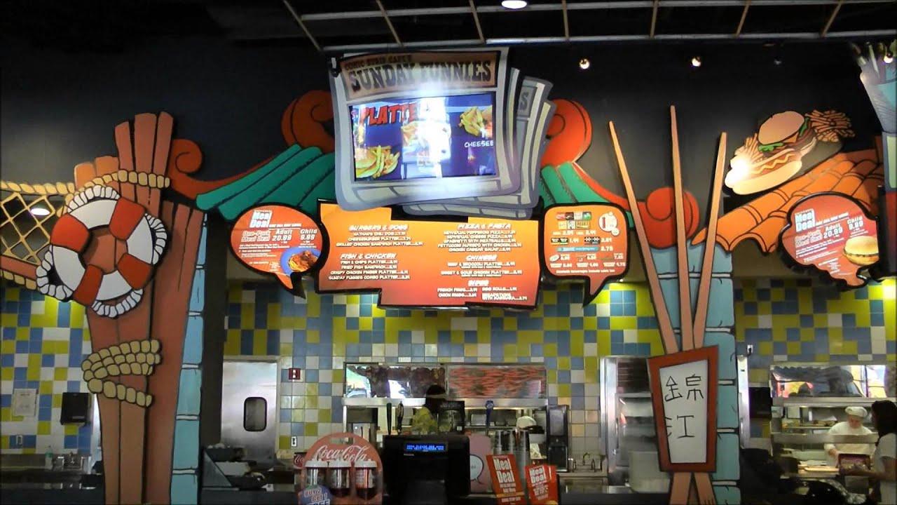 Comic Strip Cafe Islands Of Adventure Universal Orlando