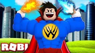 O HERÓI MAIS PODEROSO QUE OS VINGADORES COM MAIS DE 1.000.000 DE PODER no Superhero Simulator ROBLOX
