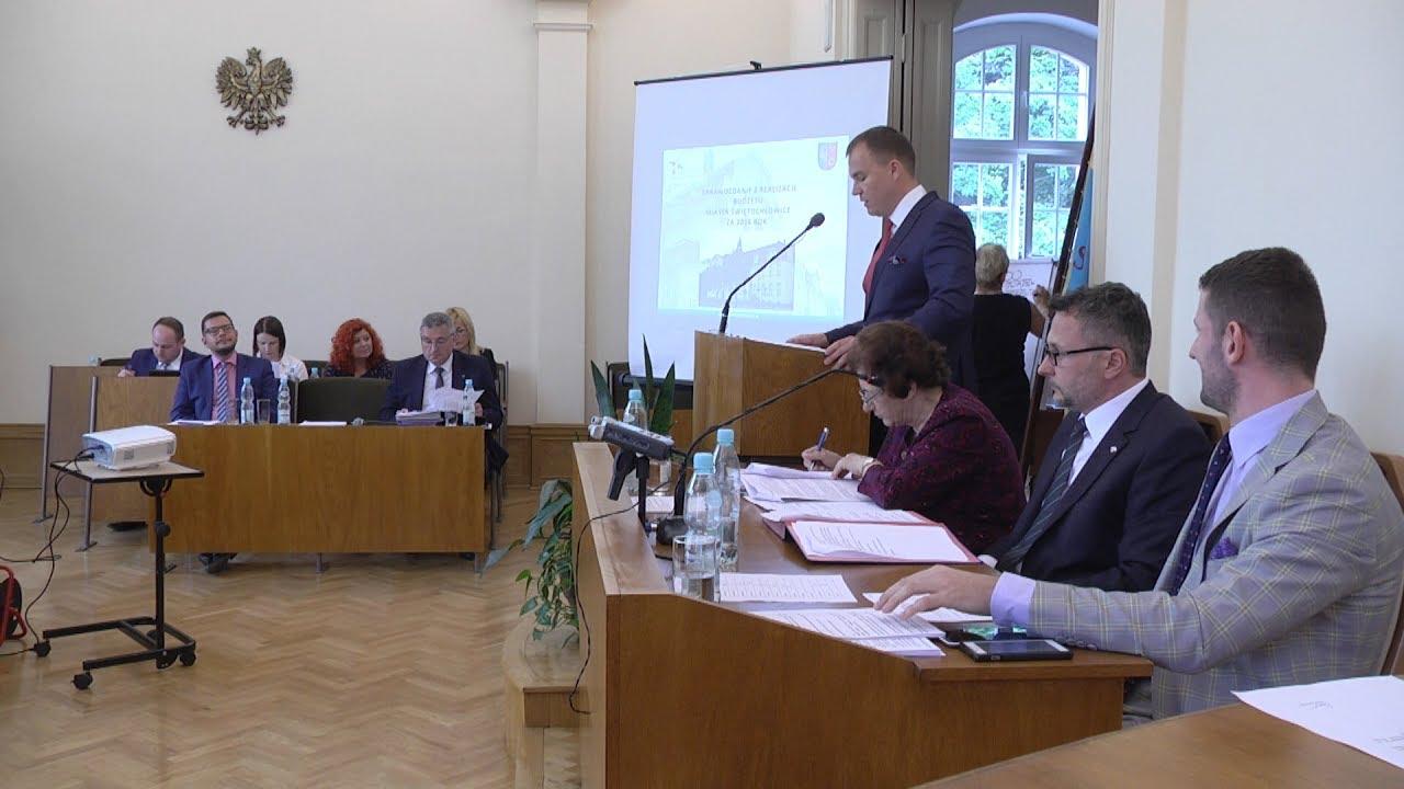 XXXVII sesja Rady Miejskiej, część I