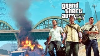 Grand Theft Auto V (GTA 5) Gameplay [HD PS3] #1