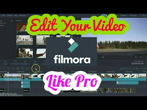 How to edit videos on your phone edit video for youtube edit 1444 best software to edit youtube videos edit youtube videos in filmora ccuart Image collections