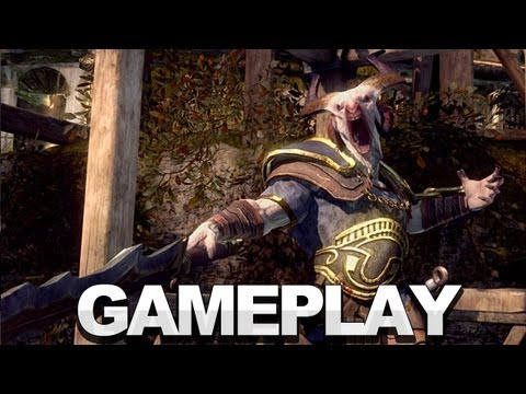 God of War Ascension Multiplayer Gameplay (Off Screen) - E3 2012