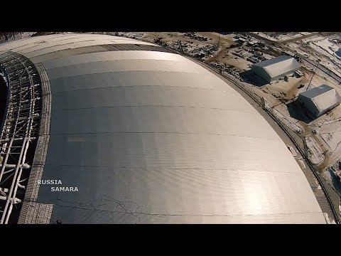 Зеркальная крыша на «Самара Арена»