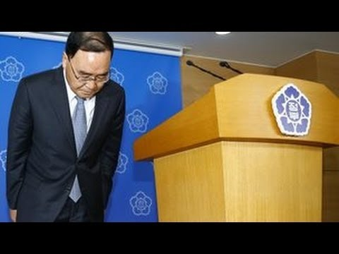 South Korean PM Chung Hong-won Offers Resignation Over Ferry