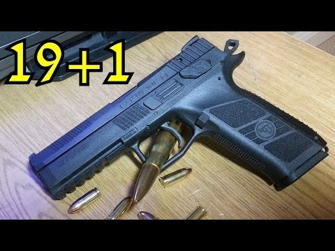 CZ P-09 Duty Review: Best 9mm Pistol for the Money 2014