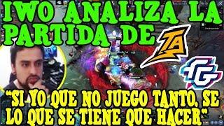 IWO ANALIZA LA PARTIDA DE THUNDER PREDATOR VS FORWARD GAMING I DOTA 2
