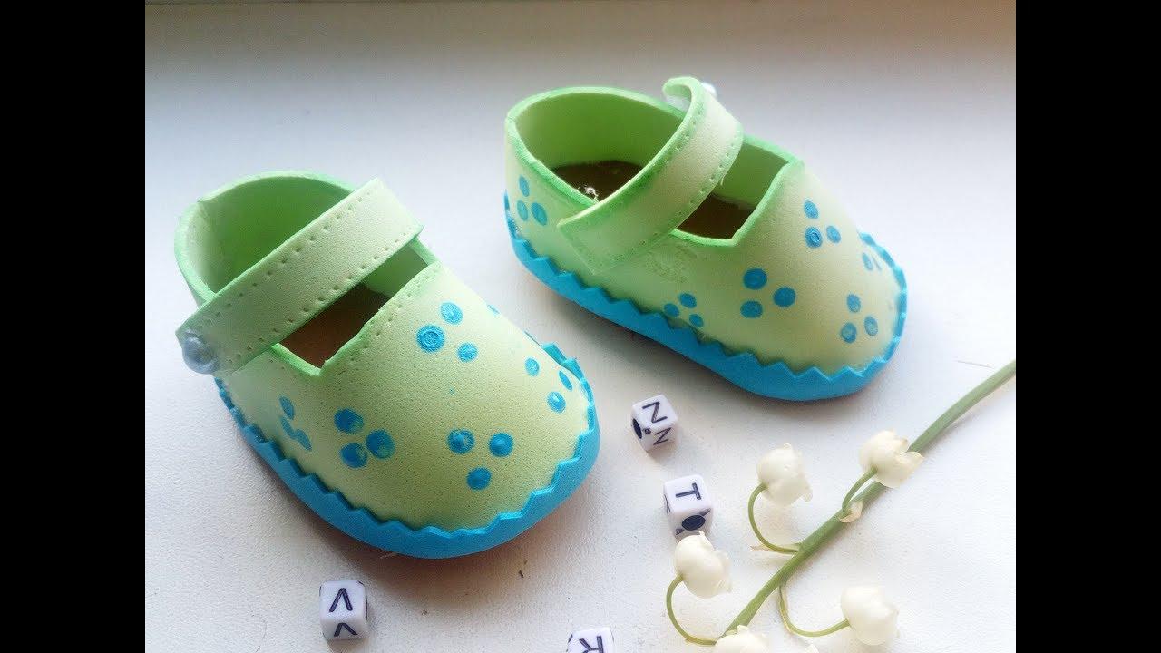 Обувь для кукол из фоамирана своими руками 39