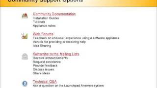 TurnKey Software Appliance Screencast v1