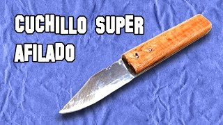 ✔ Cómo Hacer un Cuchillo Super Afilado | How to Make a Super Sharp Knife