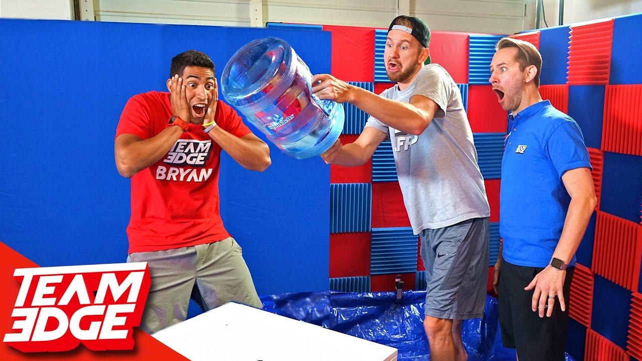 Water Bottle Flip Challenge!!