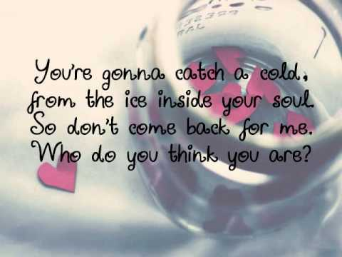 Jar Of Hearts-christina Perri With Lyrics video