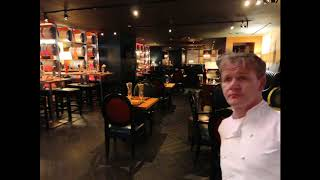 Gordon Ramsay but he's an hour early so its empty & quiet and all you hear is the sound of tinnitus
