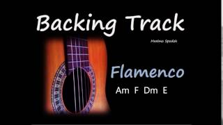 BACKING TRACK IN Am SPANISH FLAMENCO