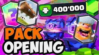 Clash Royale EPIC PACK OPENING 400