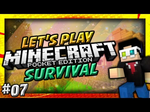 Minecraft POCKET EDITION Let's Play Survival Ep 7: RELOCATION CRISIS!