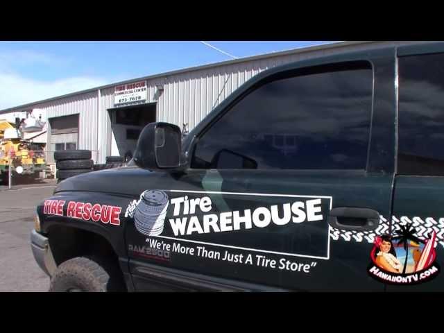 Tire Rescue - Tire Warehouse Maui Hawaii