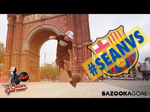 Séan VS Barcelona / @seanfreestyle
