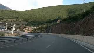 A1 kthehet ne SH30 ketu, drejtimi Kukes, 2011, ALBANIA.