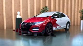 "Honda Civic Type-R Concept Film - ""Roar"""