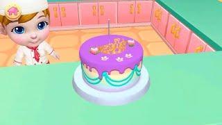 Permainan Anak Perempuan: Main Masak Masakan Membuat Kue Ulang Tahun Anak Perempuan