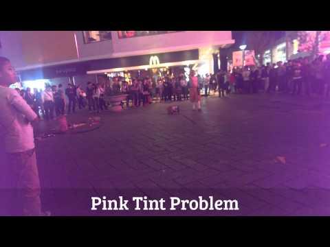 Htc One m8 Purple Tint Htc One Pink Purple Tint