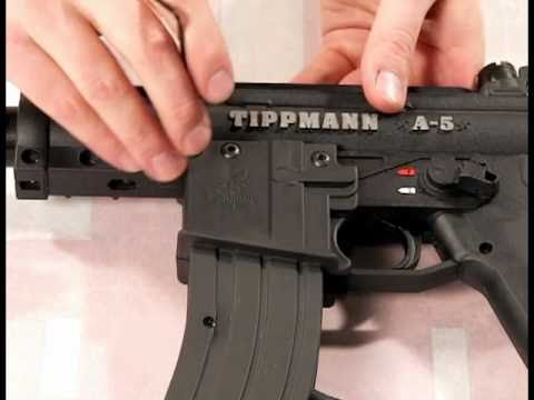 Lapco M4/M16 Gas Through Magazine Kit for the New Tippmann A5 with SS Review by HustlePaintball.com