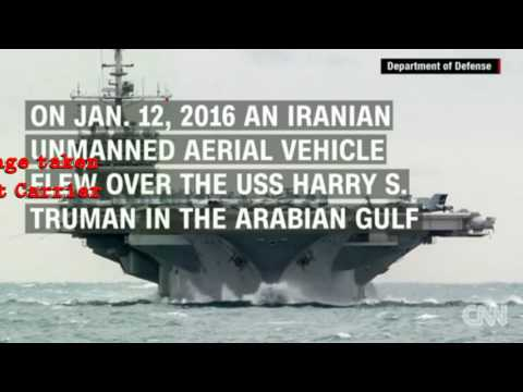 IRAN fires missile 1500 yards from US Aircraft Carrier