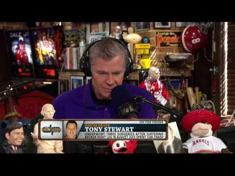 Tony Stewart on the Dan Patrick Show (Full Interview) 3/7/14