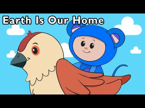 Explore the World With Eep! | Earth Is Our Home + More | Mother Goose Club Phonics Songs