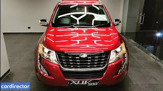 Mahindra XUV500 W7 2018   New XUV500 2018 Accessories   Interior and Exterior   Real-life Review