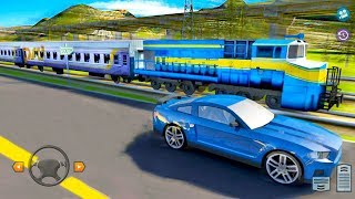 Trains vs Cars Game: Racing Simulator - Android Gameplay