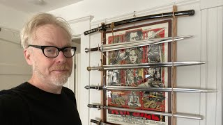 Adam Savage's One Day Builds: Movie Sword Rack!