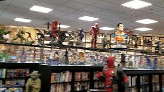 Best Statue Comic Shop in Las Vegas Tour