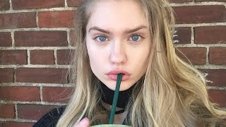 WHAT I EAT IN A DAY AS A FASHION MODEL