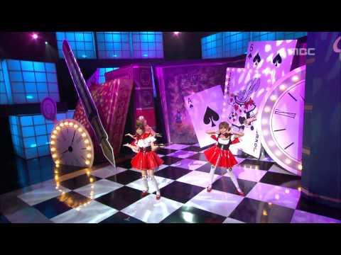 Orange Caramel - A-ing, 오렌지 캬라멜 - 아잉, Music Core 20101120 video