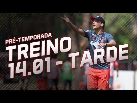 Pré-temporada | Treino da tarde (14/01/2017)