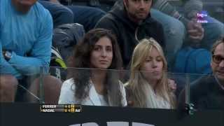 Nadal-Ferrer best and last points Rome 2013 Internazionali BNL D