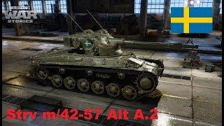 WoT Xbox . Strv m/42-57 Alt A.2 . Szwedzki premium MT tier VI !!!