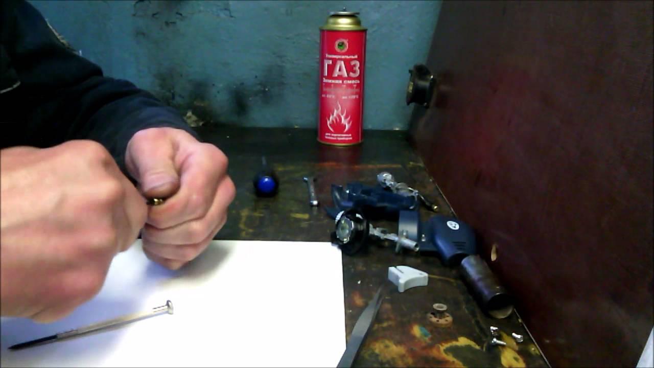 Ремонт газовой горелки с пьезоподжигом своими руками