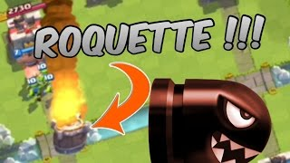 Clash Royale : FULL ROQUETTES et 45 points de vies...