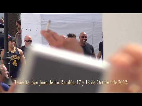 Fast and Furious 6 Vin Diesel y The Rock en Tenerife, Octubre 2012
