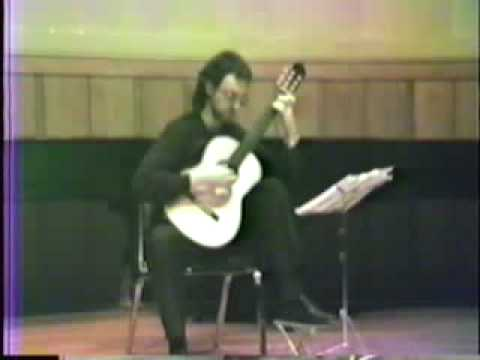 Derek Sterling plays Paganini: Romance from Grand Sonata
