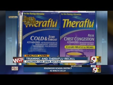 Recall on popular flu remedies