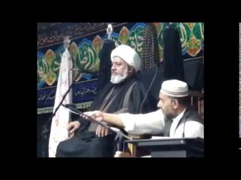 Maulana Afzal Hayderi 7th Muharram Birmingham (UK)
