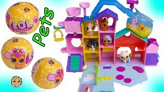 LOL Surprise Pets Stay At Littlest Pet Shop Cat Hotel - Toy Video Cookie Swirl C