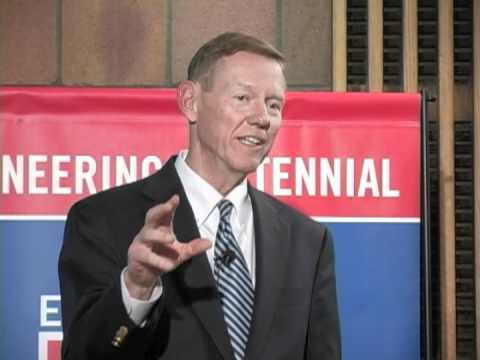 Alan Mulally at the Ford Innovation Symposium at UDM